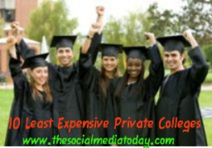 Least Expensive Private Colleges