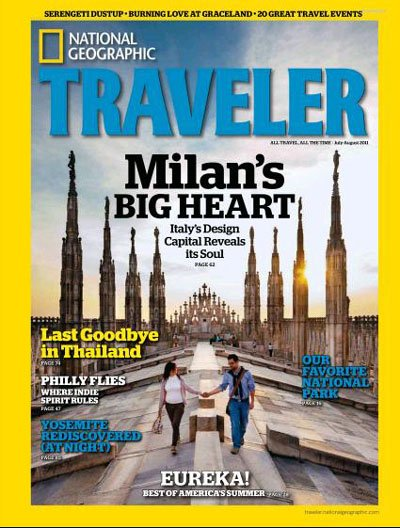 National Geographic Traveler Interactive Magazine