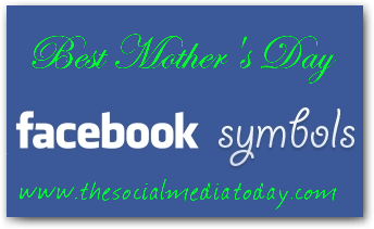 Cool Mother's Day Symbols