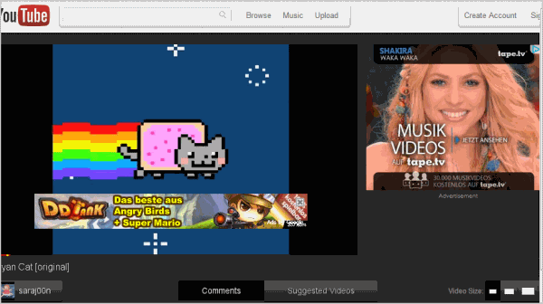 YouTube Redesign Cosmic Panda Now Available
