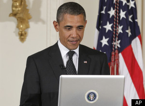 President Obama Repeats George W. Bush's 'Internets' Flub