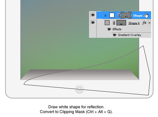 tutorial ipad2 20 Drawing Realistic iPad2 in Photoshop