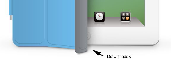 tutorial ipad2 58 Drawing Realistic iPad2 in Photoshop