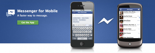 Download facebook messanger app for Anroid and iOS