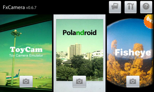 Fx Camera Top 20 Android Photography Apps