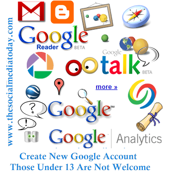 Create New Google Account