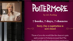 Harry Potter e-book website targeted by scammers