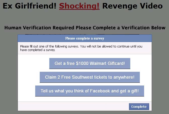 this what happend survey This is what Happend to his Ex GirlFriend: Facebook Scam