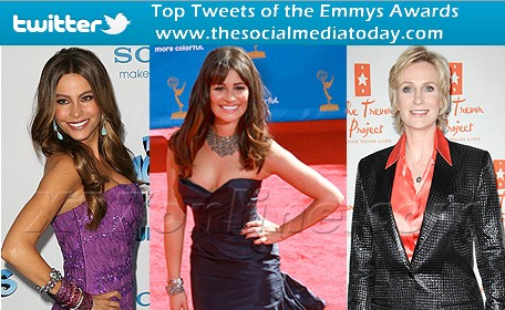 The Top Tweets of Emmy Awards 2011