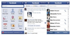 iPhone app, Facebook 3.5 update download