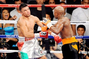 Mayweather Vs Ortiz Controversial knockout video highlights