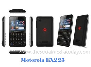 Motorola EX225 theme download