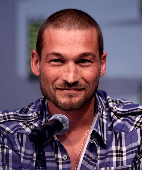 Andy Whitfield at the San Diego Comic-Con International