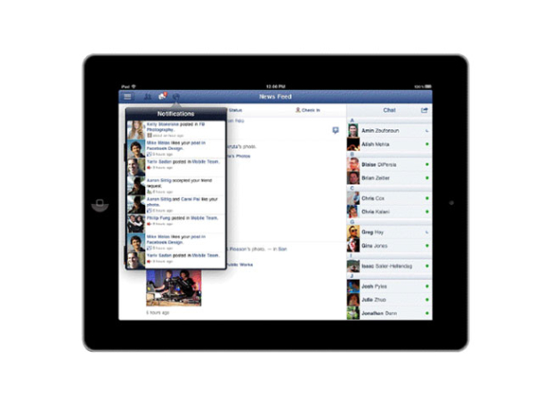 Facebook's iPad App Finally Arrives