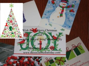 Marry Christmas cards