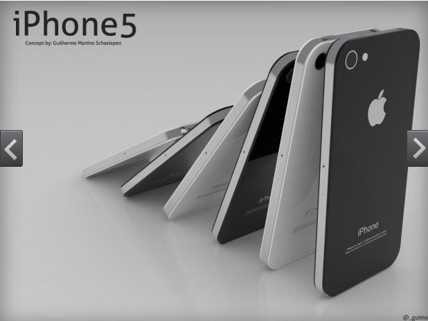 iPhone 5 for 2012