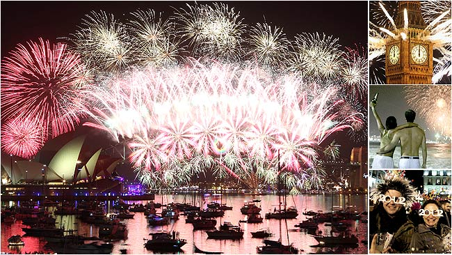 New Year&#039;s Eve Celebrations around the world video