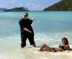 kim dotcom wife photo