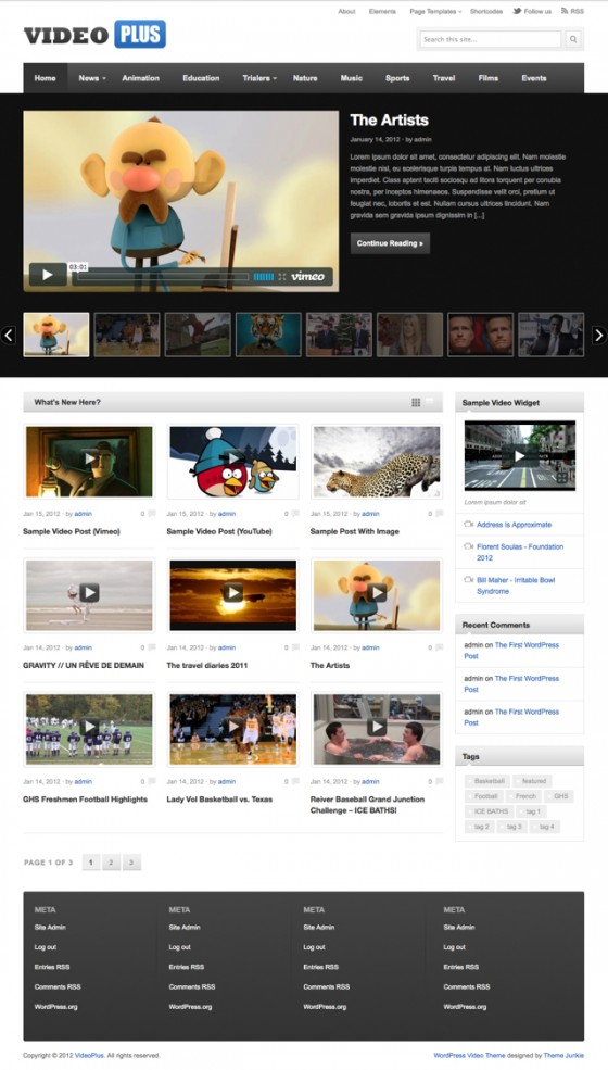 videoplus-wordpress-theme