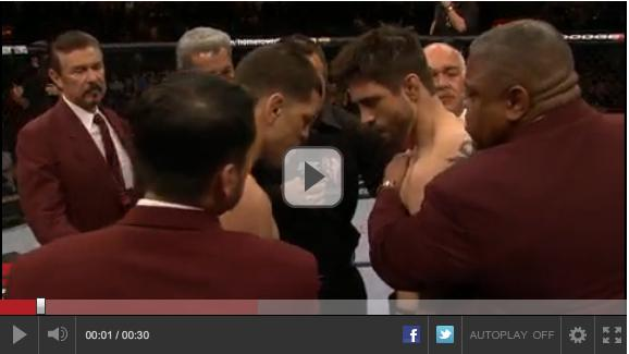 carlos condit beats nick diaz highlight