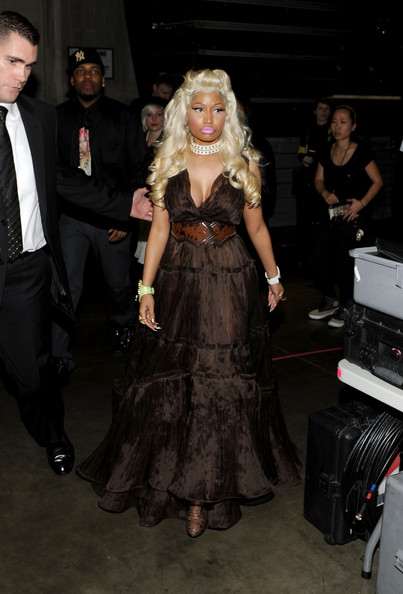 Nicki Minaj's Grammy performance vieo