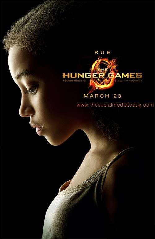 Download Rue Official Poster of The Hunger Games Movie