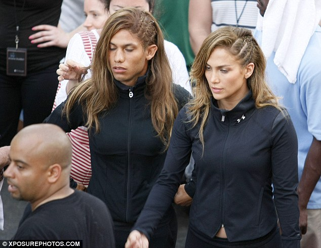 Jennifer Lopez body double stunt
