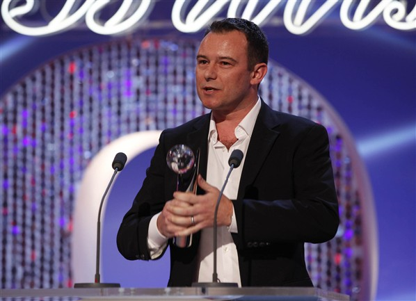 Andrew Lancel at British Soap Awards 2012