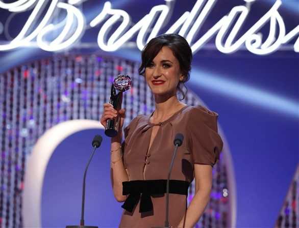 Katherine Kelly at British Soap Awards