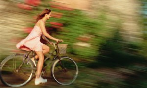 hot girl Cycling pictures