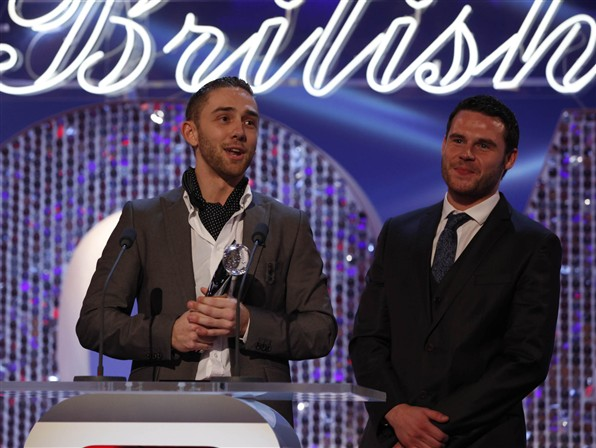 Emmerdale's Jackson at British Soap Awards