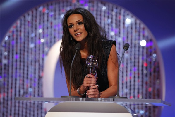 Michelle Keegan at British Soap Awards