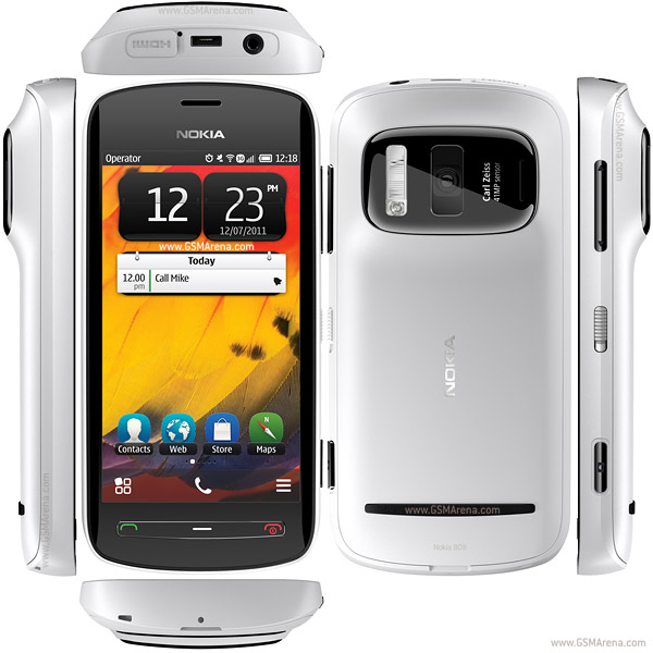 Nokia 808 PureView Full Specs