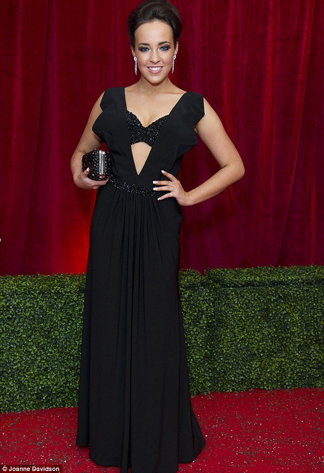 Stephanie Davies at British Soap Awards 2012