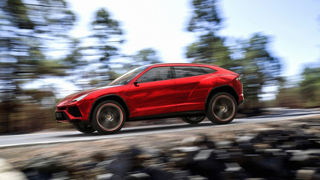 Lamborghini Urus Photo Gallery