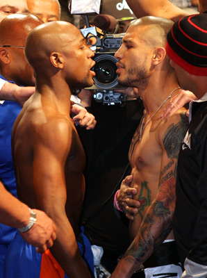 mayweather Vs cotto Replay Video