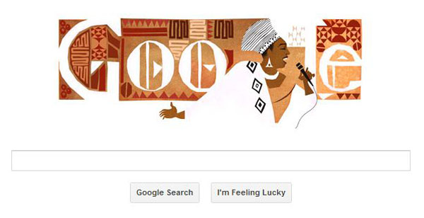 Miriam Makeba 81st Birthday Featured At Google Doodle.