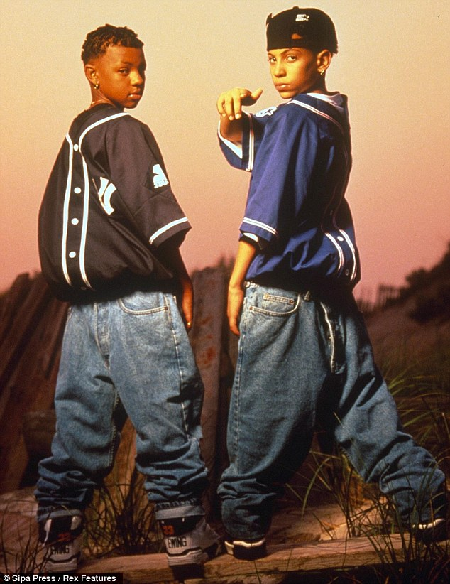 Teenage superstars: Kelly, left, and partner Chris Smith, right, were propelled to global stardom by their catchy 1992 hit Jump.