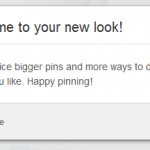 Pinterest's new look