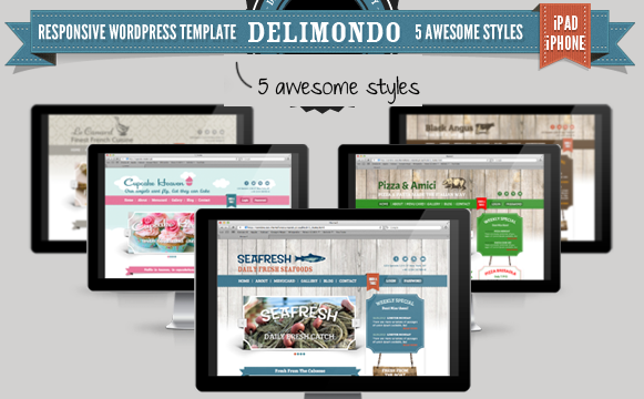 download free resturant theme