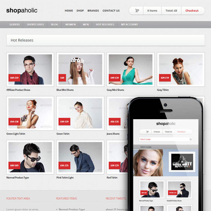 30 Best eCommerce WordPress Themes Powered by WooCommerce 2015 ...