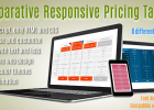 comparative responsive table