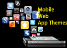 mobile web app themes
