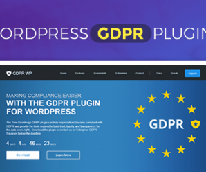 free wordpress gdpr plugin