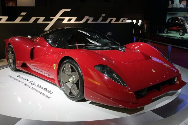 Cars designed by Sergio Pininfarina