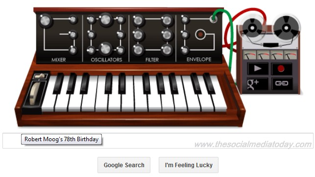 Musical Google Doodle