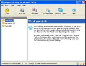 Excel password recovery free tool