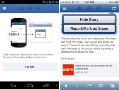 Facebook new mobile security guide pdf