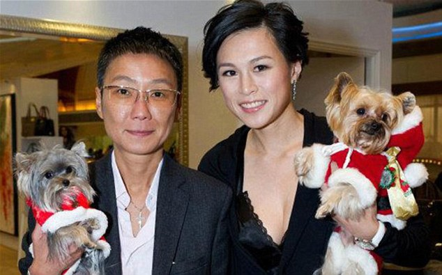 Gigi Chao marriage picture