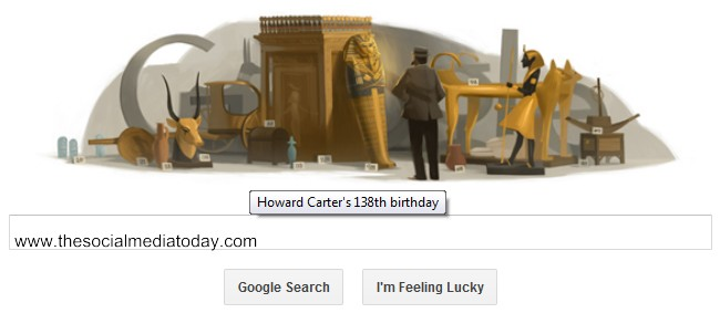 Howard Carter Google Doodle Youtube video